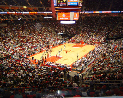 Toyota Center Houston