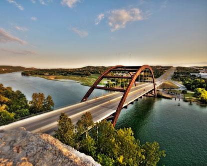 Austin attractions austin texas entertainment for Fishing spots in austin tx