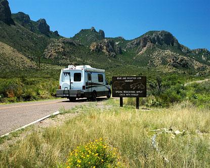 Big bend national park camping full hookups