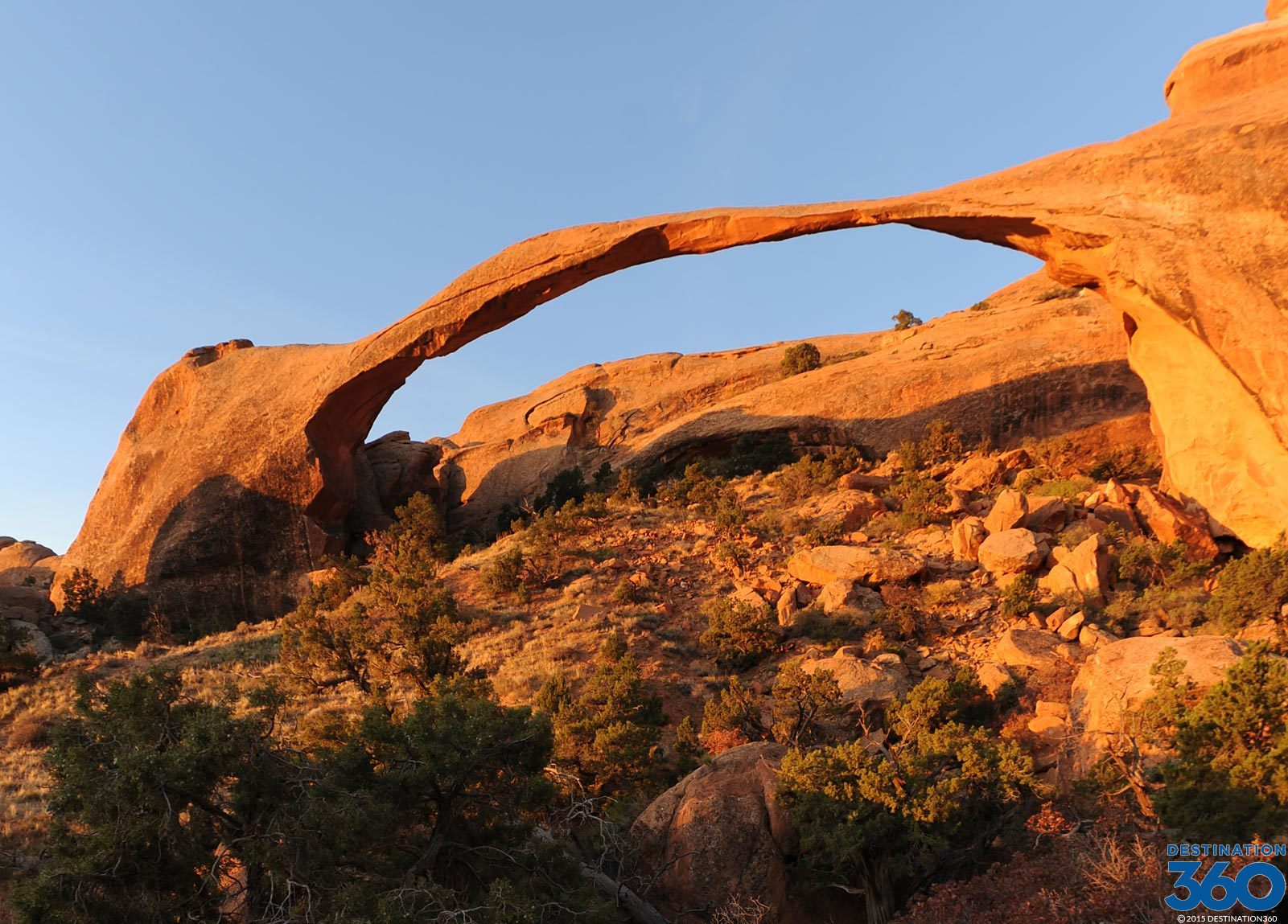 Landscape Arch Virtual Tour