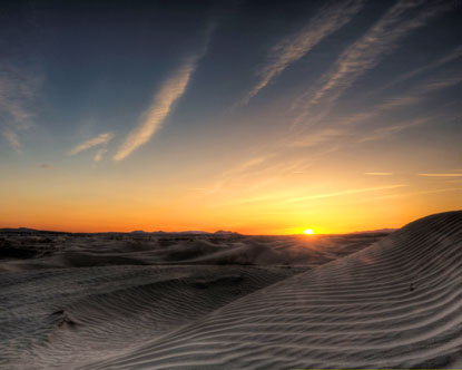 Little Sahara Sand Dunes