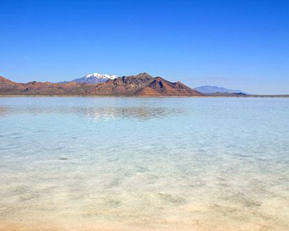 Habitat de las artemias Utah-great-salt-lake