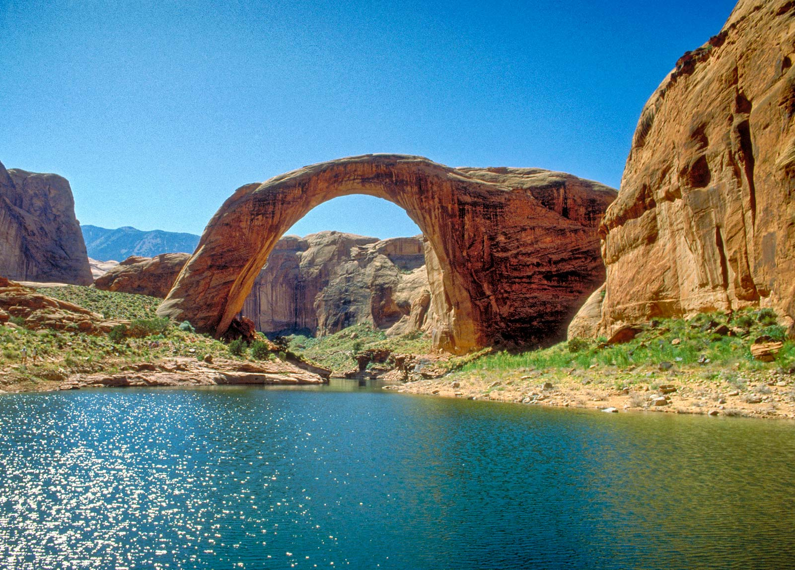 Rainbow Bridge, Rainbow Bridge National Monument, Rainbow Bridge ...