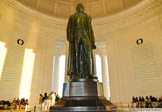 Jefferson Memorial Inscriptions
