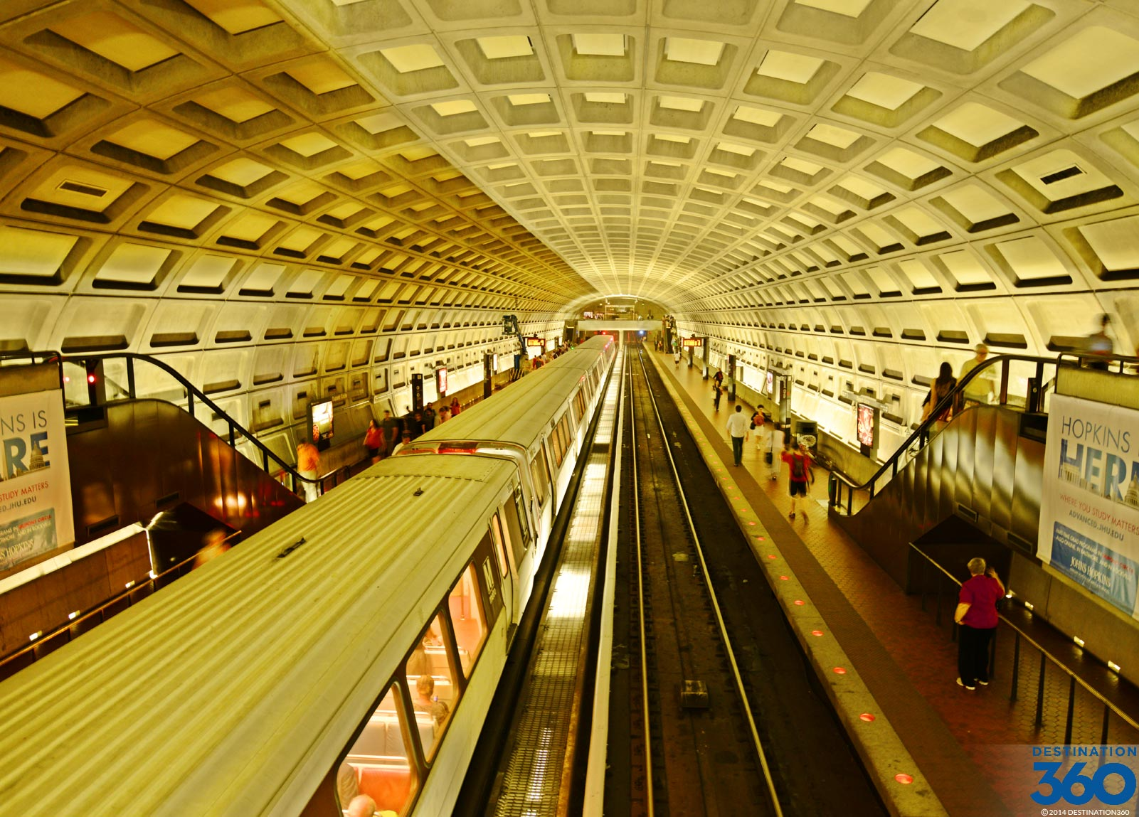 Metro Rail Washington DC