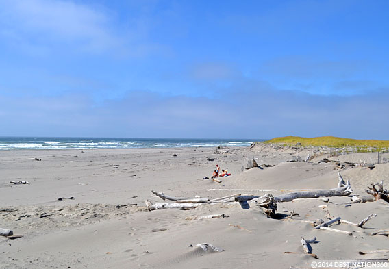 Cape Disappointment Beach