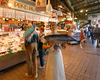 Pike Place Market Fish Virtual Tour