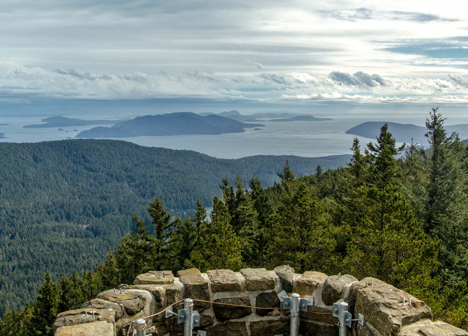 Moran State Park on Orcas Island