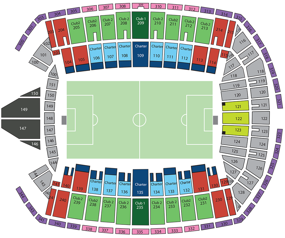CenturyLink Field Sounders Seating Chart