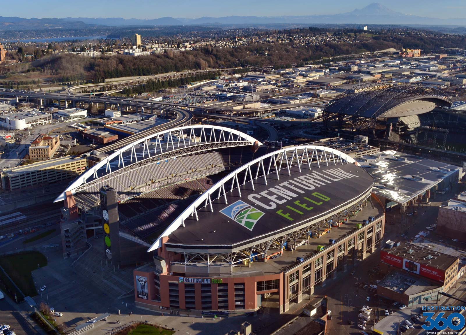 CenturyLink Field Virtual Tour