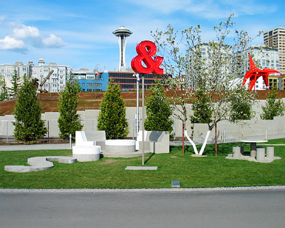 Olympic Sculpture Park Love and Loss