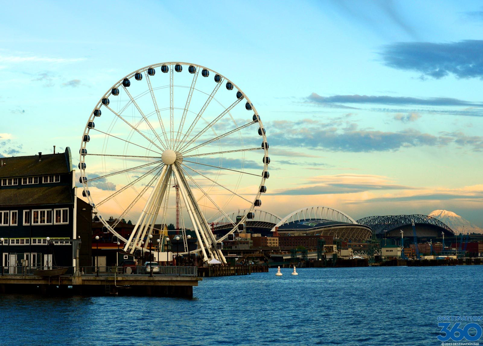 Seattle Great Ferris Wheel Pier 57 Ferris Wheel