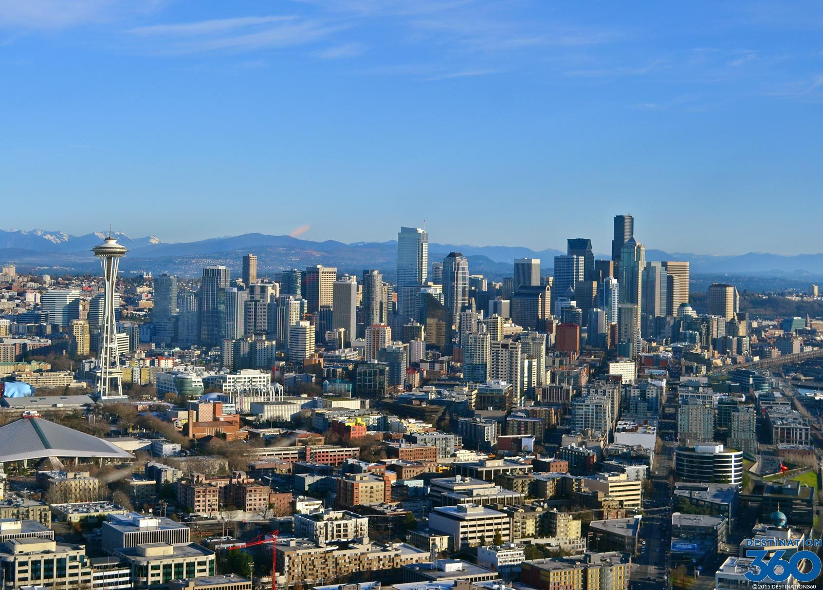 Seattle Skyline Virtual Tour