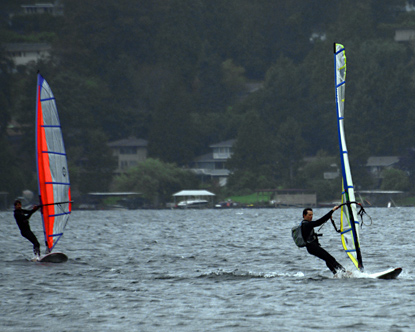 Windsurfing Seattle