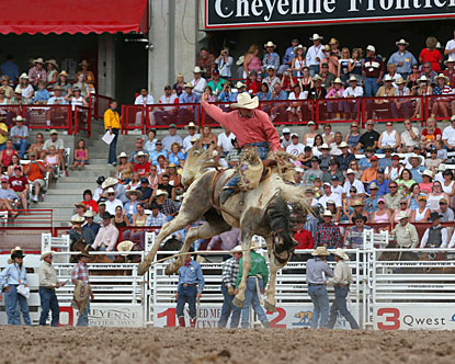 Cheyenne Frontier Days Frontier Days In Wyoming