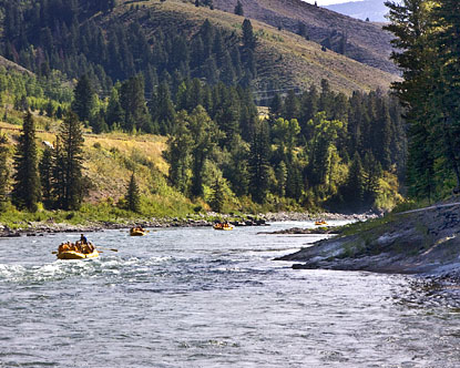 Wyoming Rafting