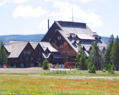 reservation hôtel yellowstone