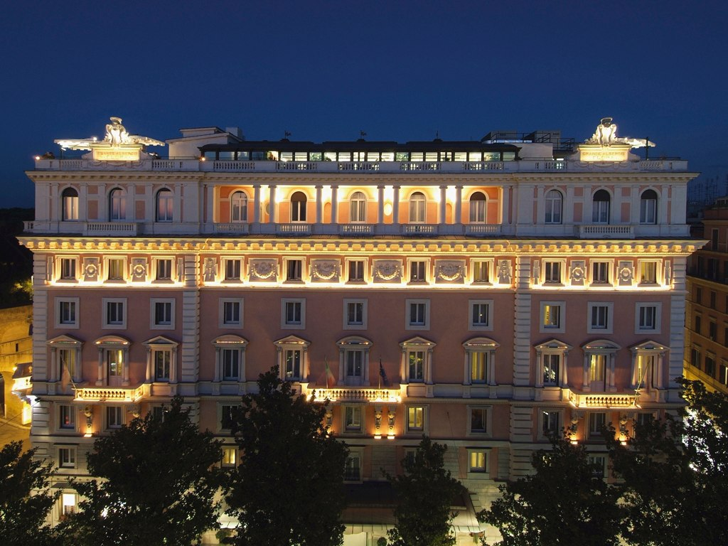 Rome marriott grand hotel for Grand hotel rome