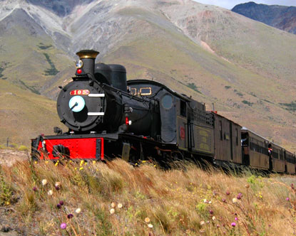 Patagonia South America >> Transportation in Argentina - Train to the Clouds