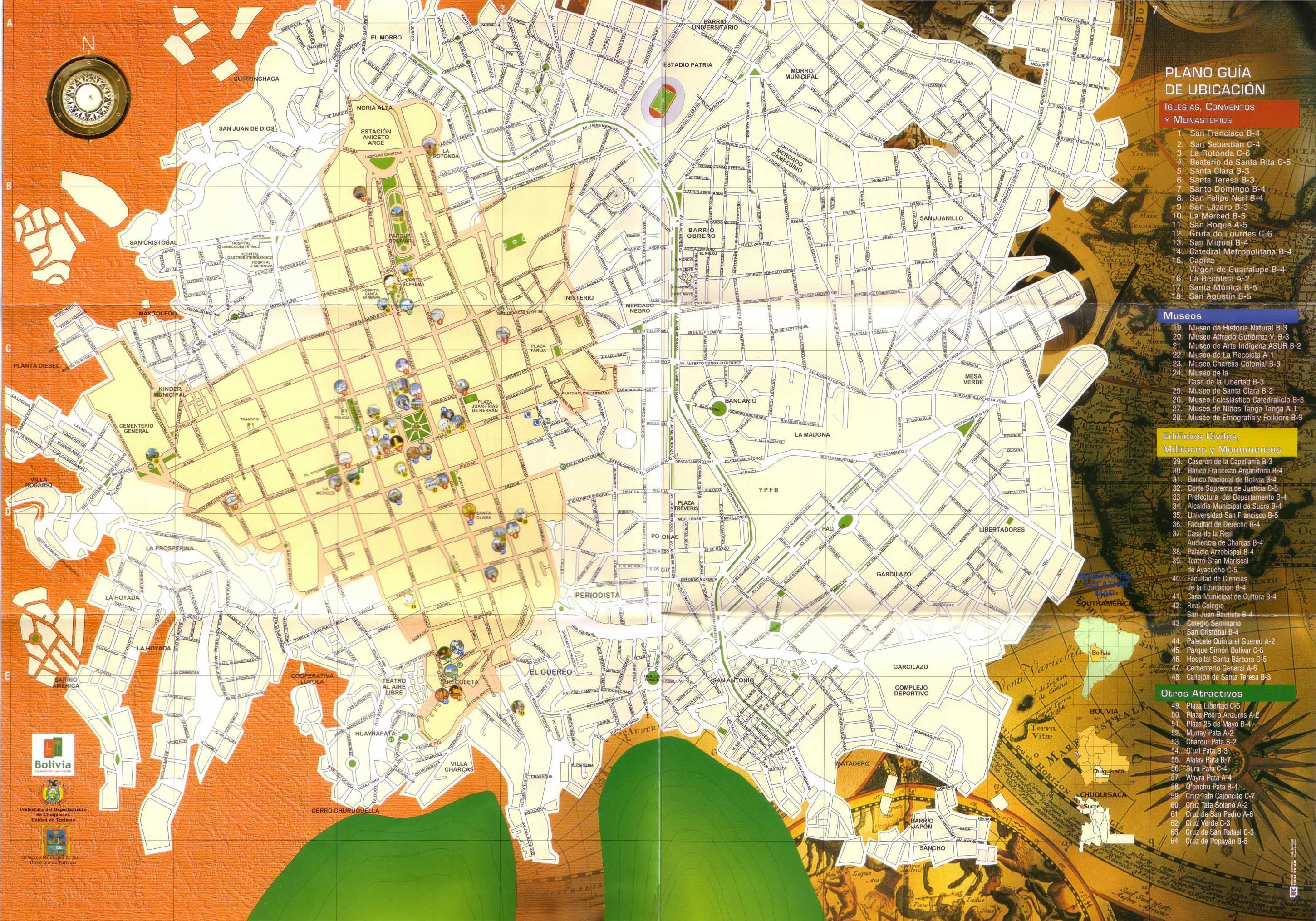 map-of-sucre-bolivia.jpg Sucre Map