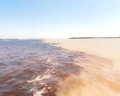 Meeting of Waters - Rio Negro Brazil
