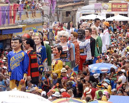 Olinda Carnival - Pictures of Carnival in Olinda Brazil