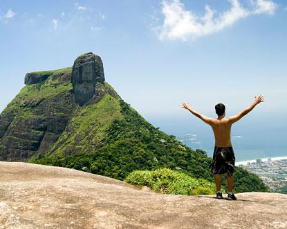 Rio De Janeiro Hiking Corcovado Mountain Hiking
