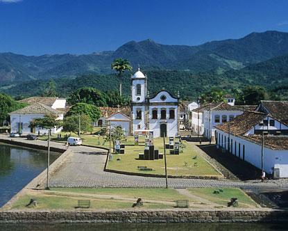 Paraty - Boat From Rio to Paraty Brazil