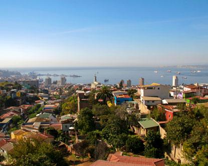 Patagonia South America >> Valparaiso Chile
