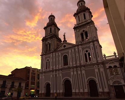 Cuenca Santo Domingo Church Cuenca Church