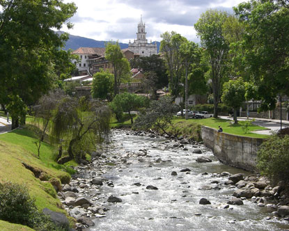 My birthplace in Ecuador
