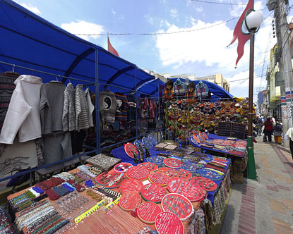 Ecuador Markets Virtual Tour