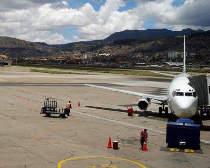 Cusco Peru Airport