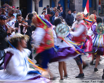 Peruvian Holidays - Summer Festivals in Peru