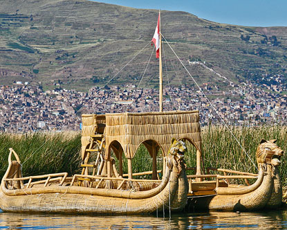 History of Lake Titicaca