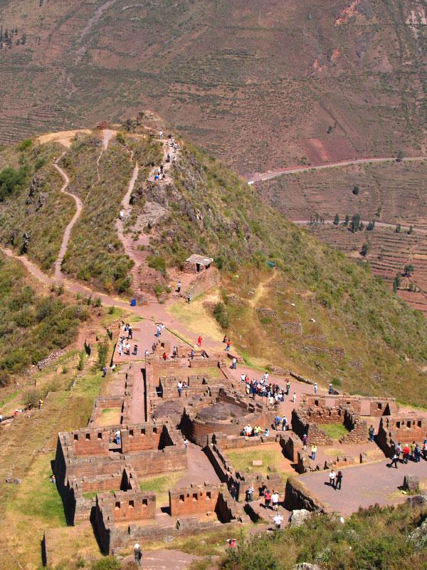 Pisac Peru Pisac Market Pisac Ruins
