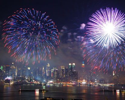 Best Cities to Watch Fireworks