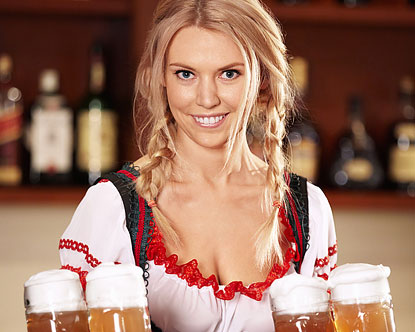 beer фото девушек