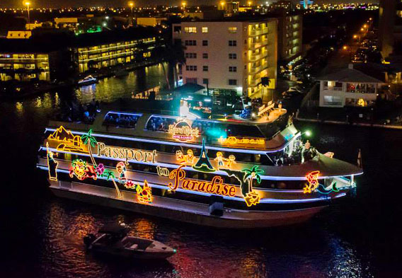 Fort Lauderdale Christmas Boat Parade.Hollywood Christmas Parade Winterfest Boat Parade Disney