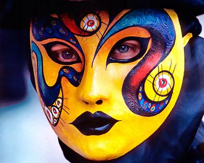 masks for mardi gras carnival masks