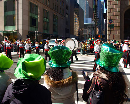 St Patrick's Day in New York City