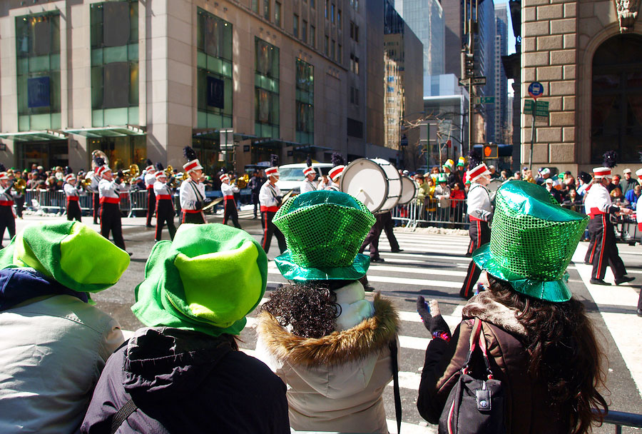 St Patrick's Day New York City