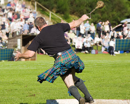 Highland games training program