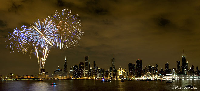 Navy Pier New Years