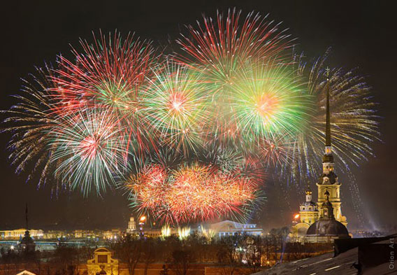 Russia New Years
