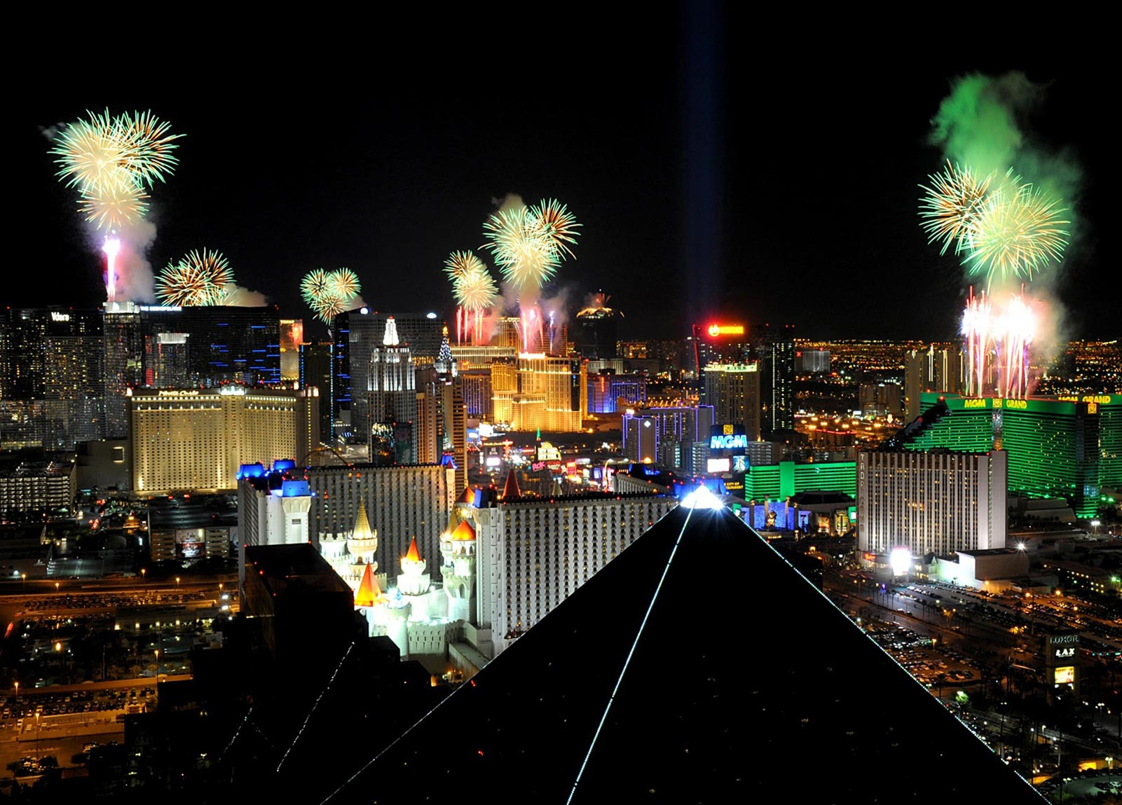 new years eve vegas