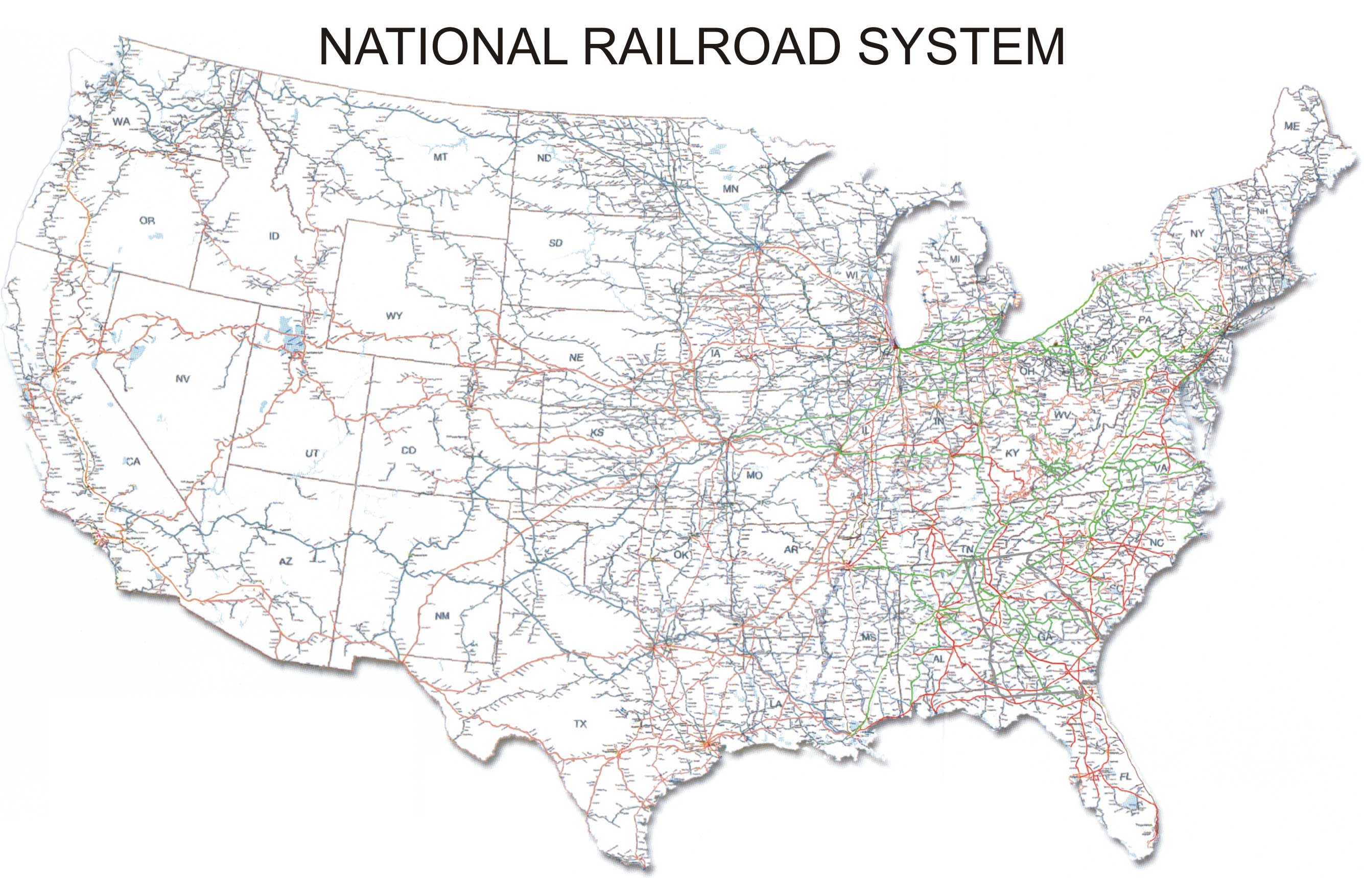 US Railroads   American Railroads