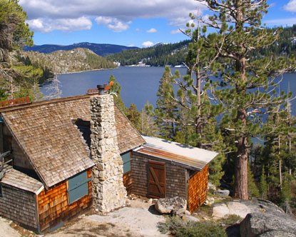 West coast cabins oregon cottages for Cheap tahoe cabin rentals